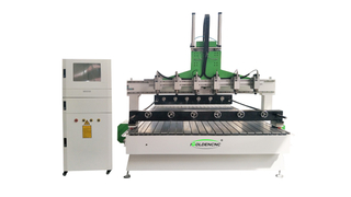 Router cnc multitesta aereo / stereo a 4 assi