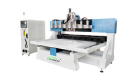 Router cnc multitesta a 4 assi
